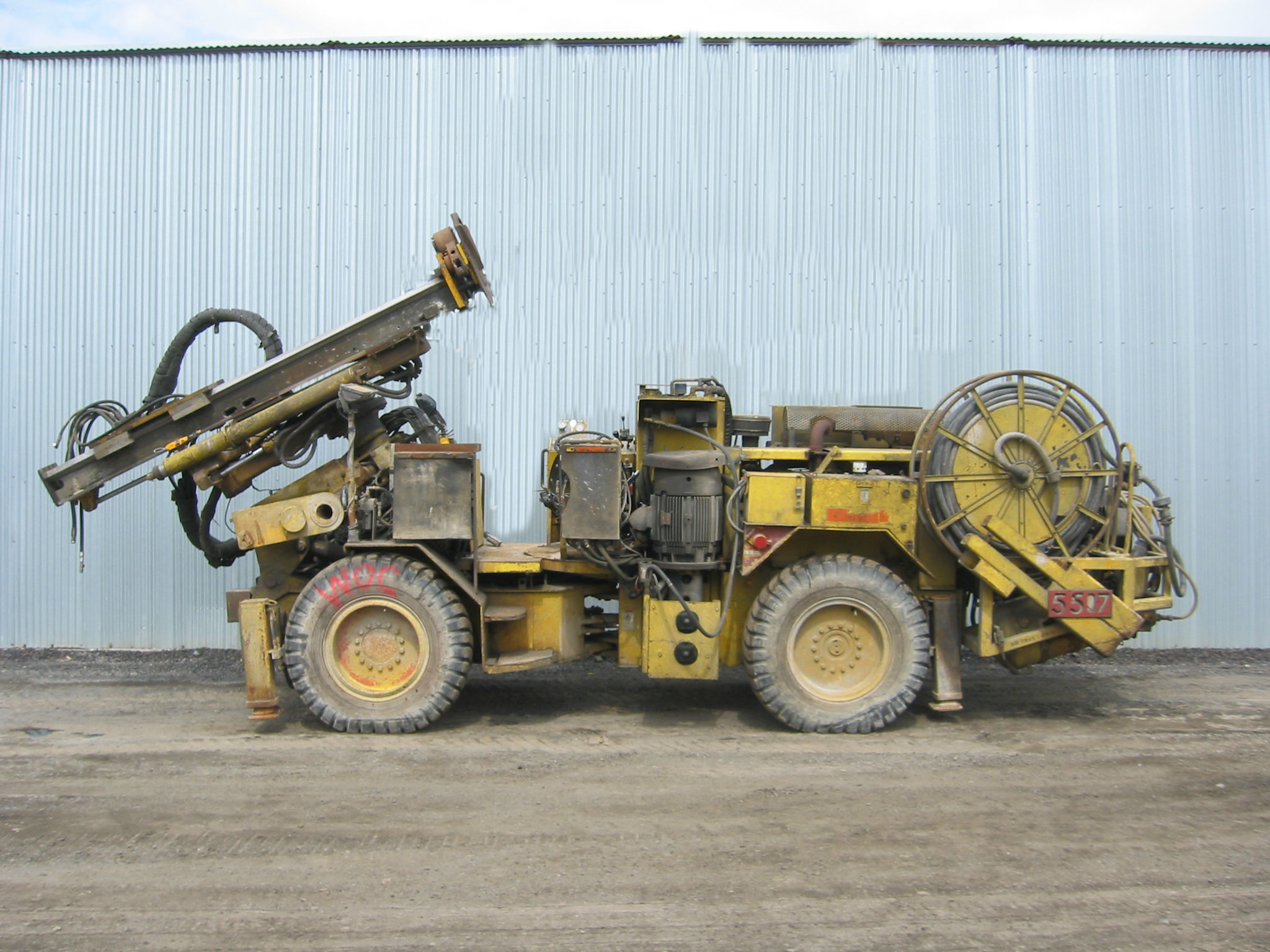 Epiroc CABLE BOLTER MN657