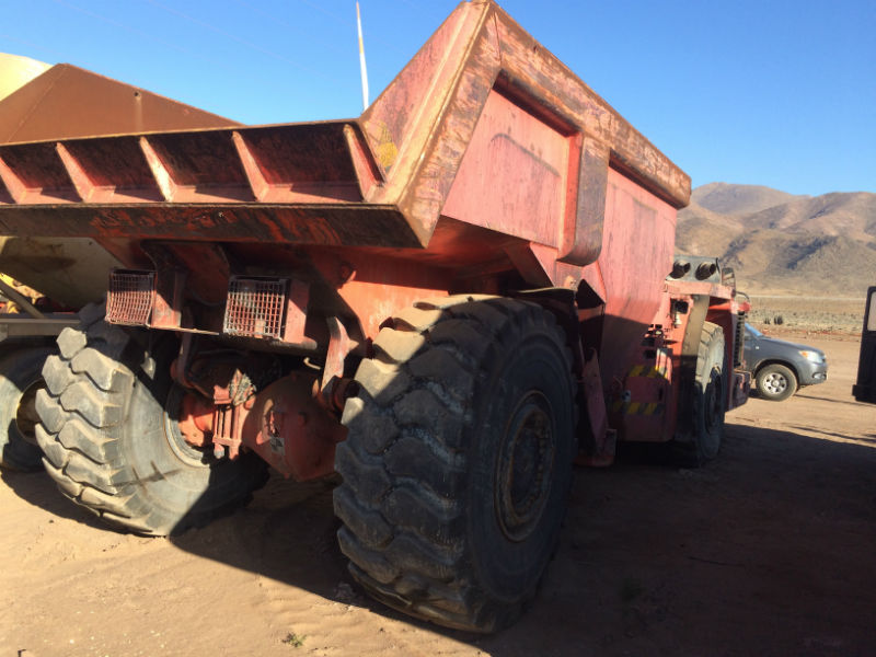 2010 Sandvik TH540 HAUL TRUCK