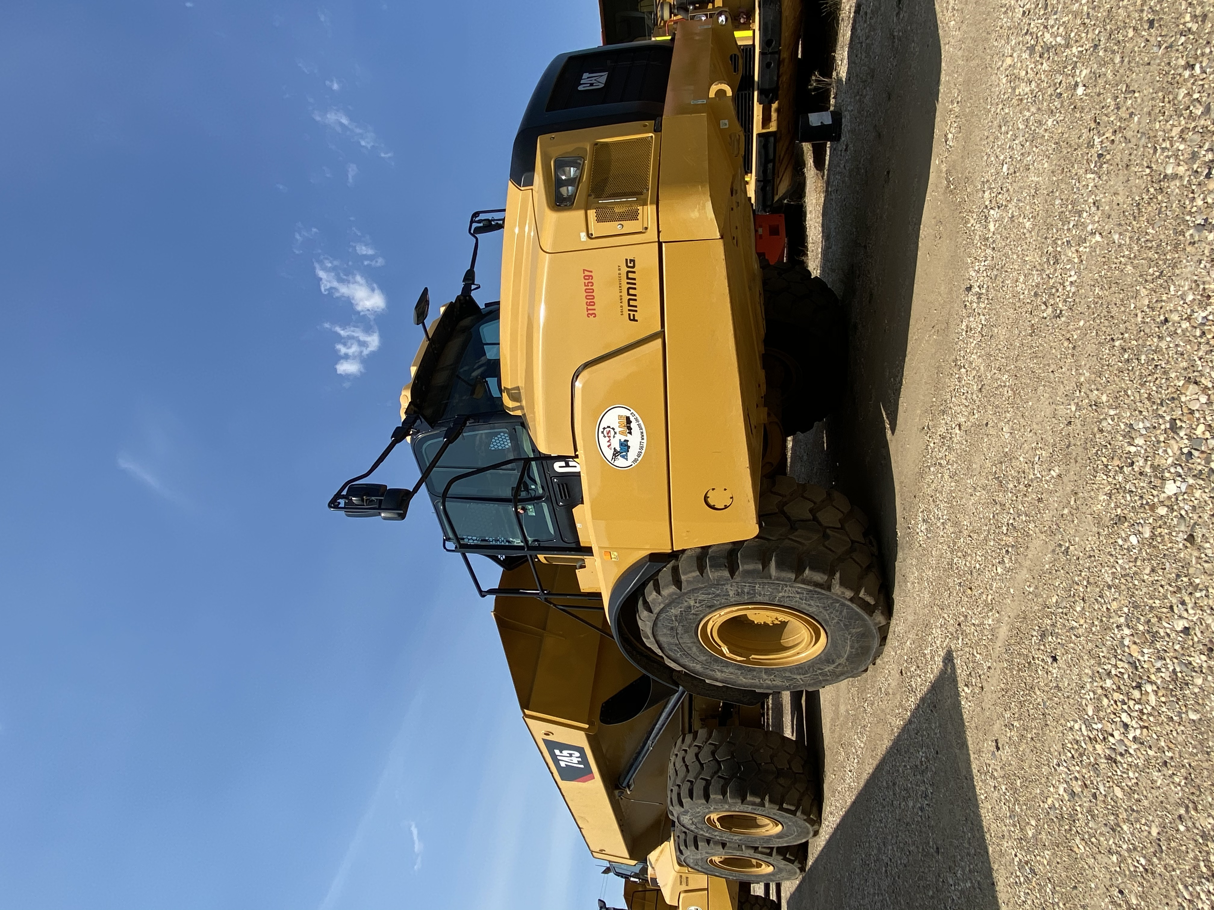 2018 Caterpillar 745 Articulated Truck