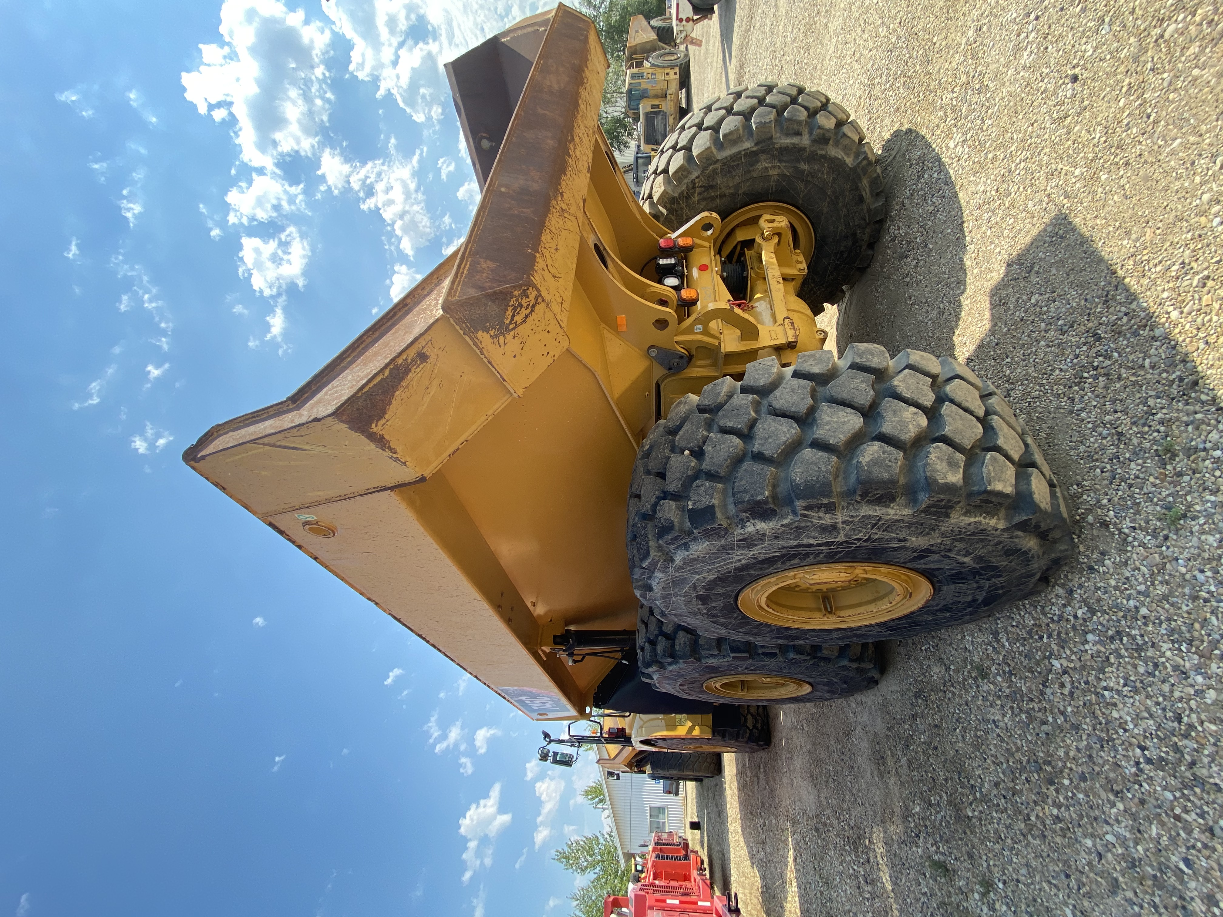 2016 Caterpillar 745C Articulated Truck